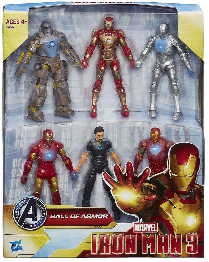 Iron Man Marvel 3 hall of armor figure set by hasbro