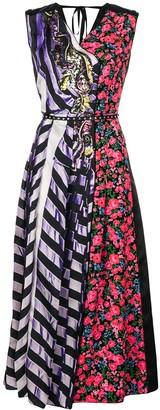 Marc Jacobs striped floral summer dress