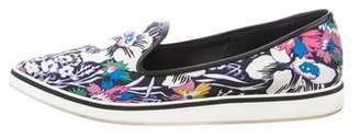 Nicholas Kirkwood Printed Slip-On Sneakers