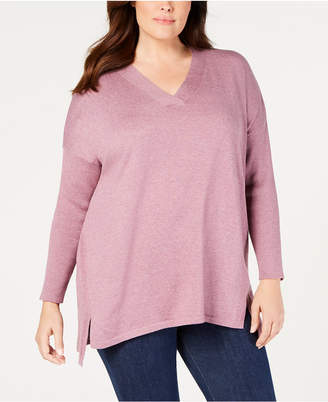 Style&Co. Style & Co Plus Size High-Low Hem Tunic, Created for Macy's