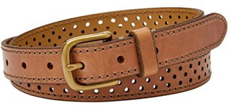Fossil Perforated Leather Belt $36 thestylecure.com