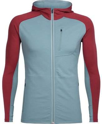 Icebreaker Quantum Hooded Full-Zip Shirt - Men's