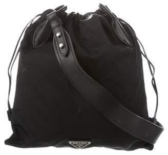 Prada Tessuto Quilted Crossbody Bag Black Tessuto Quilted Crossbody Bag