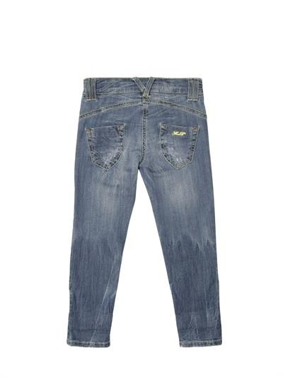Miss Blumarine Rhinestone Pocket Jeans