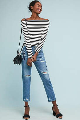 AG Jeans The Ex-Boyfriend Mid-Rise Relaxed Cropped Jeans