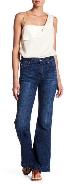 7 For All Mankind7 For All Mankind Tailorless Ginger Wide Leg Jean