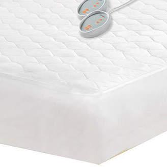 Simmons BeautyrestTM Cotton Blend Heated Mattress Pad