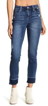 Seven7 Released Hem Skinny Jeans