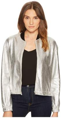 Paul Smith Metallic Bomber Women's Coat