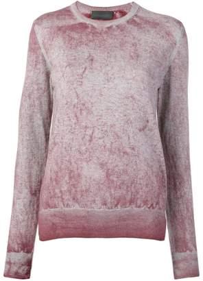 5b6581a1a6 ... Farfetch · Diesel Black Gold sulphur-treated knitted jumper
