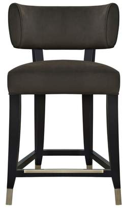 CLASSIC HOME Byron Upholstered Counter Stool