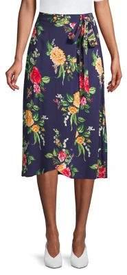 Dorothy Perkins Avita Floral Midi Skirt
