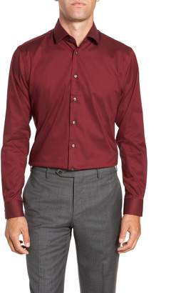 Calibrate Trim Fit Non-Iron Stretch Solid Dress Shirt