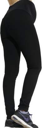 Sweet Mommy Maternity COSMIC WARMTH Fleece Leggings Pants, (XL)