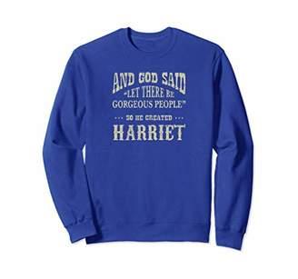 Personalized Sweatshirt Birthday Gift For Harriet Shirt