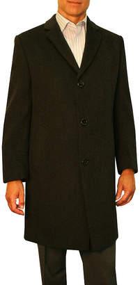 Jean Paul Gaultier GERMAIN Germain Sander Wool Blend Topcoat - Big & Tall