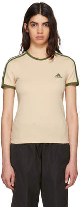 Yeezy Beige and Green Logo Baby T-Shirt