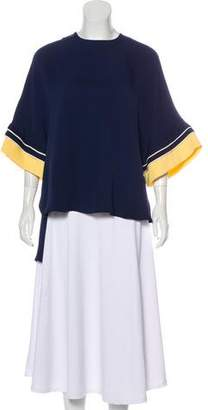 Roksanda Silk Short Sleeve Blouse w/ Tags