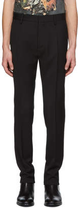 DSQUARED2 Black Wool Admiral Trousers
