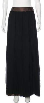 Maison Margiela Silk Maxi Skirt w/ Tags