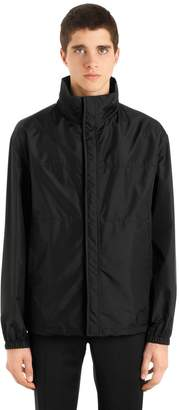Prada High Collar Bonded Nylon Jacket