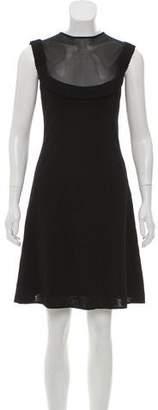 Azzaro Sleeveless Knee-Length Dress