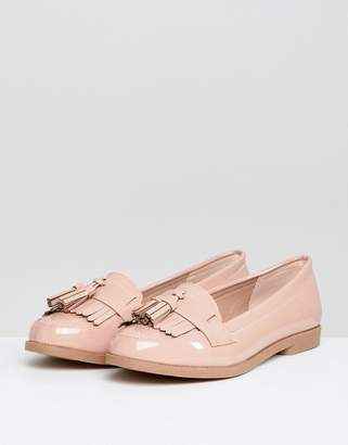 New Look Patent Tassel Loafer