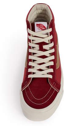 Vans Vault By Suede Canvas OG Sk8-Hi LX Sneaker