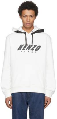 Kenzo Off-White Double Hood Hoodie