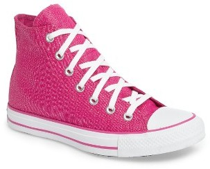 Women's Converse Chuck Taylor All Star Glam Hi Sneaker $64.95 thestylecure.com