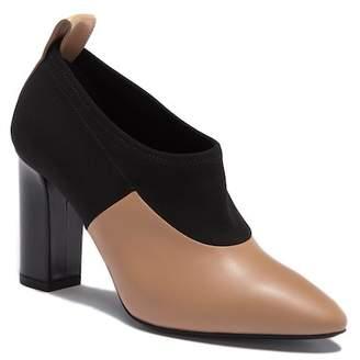 Via Spiga Bayne Leather Block Heel Pump