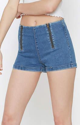 PacSun Clean Blue Tap Shorts