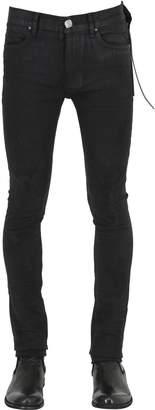 15cm Skinny Coated Denim Jeans