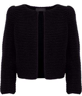 Co Bouclé-Knit Wool Jacket