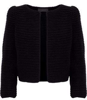 Co Boucle-knit Wool Jacket
