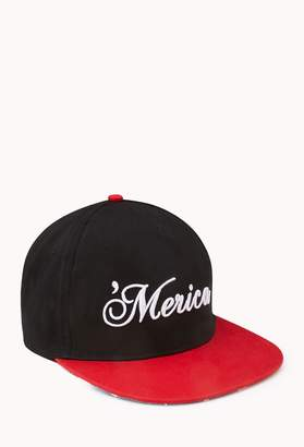 Forever 21 Merica Fitted Hat