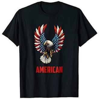 American Bald Eagle T-Shirt USA 4th of july Funny Shirt Gift