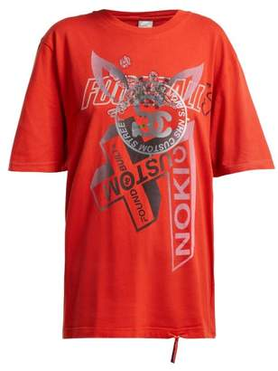 Couture Noki - Customised Street T Shirt - Womens - Red