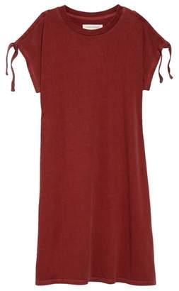 Treasure & Bond Split Sleeve T-Shirt Dress