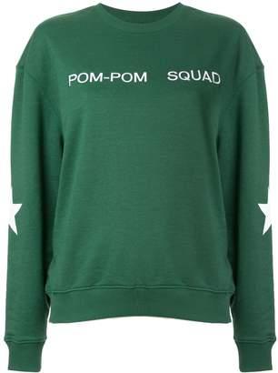 Zoe Karssen embroidered slogan sweatshirt