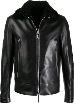 Giuseppe Zanotti Deven leather jacket
