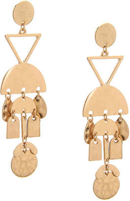 Crown Vintage Geo Chandelier Drop Earrings - Women's