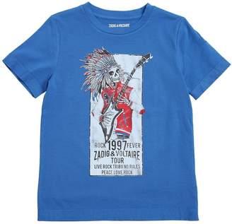 Zadig & Voltaire (ザディグ エ ヴォルテール) - ZADIG&VOLTAIRE SKELETON コットンジャージーTシャツ