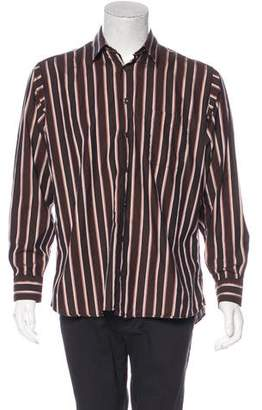 Burberry Striped Woven Shirt