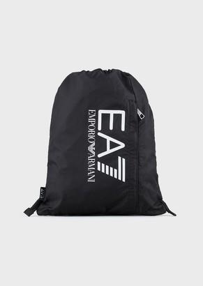 Emporio Armani Ea7 Technical Backpack With Logo