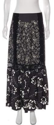 Marc Jacobs Embellished Printed Skirt