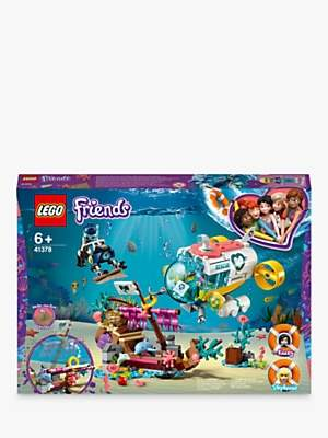 Lego Friends 41378 Dolphins Rescue Mission with Boat Submarine