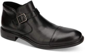 Kenneth Cole New York Kenneth Cole Men Garner Leather Cap-Toe Boots Men Shoes