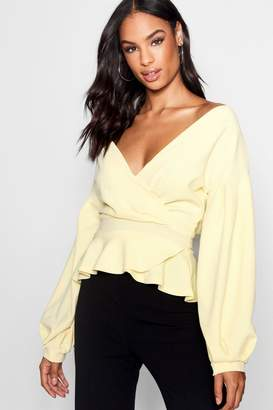 boohoo Tall Off The Shoulder Blouse