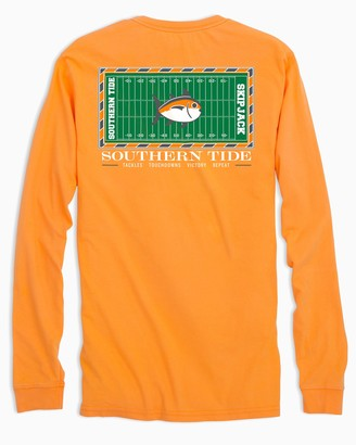 Southern Tide Gameday Football Stadium Long Sleeve T-shirt - University of Tennessee